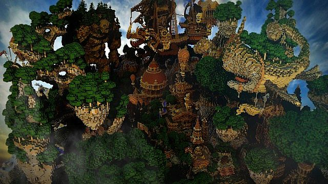 Hearthveil lost in thought clouds minecraft building ideas 2