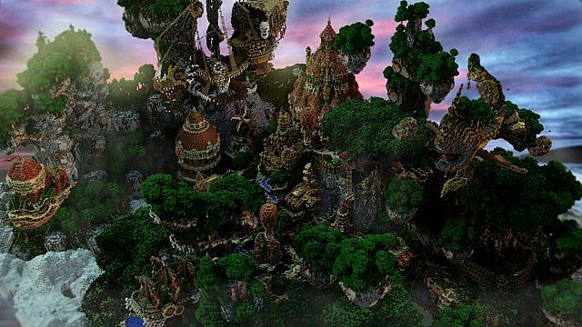 Hearthveil lost in thought clouds minecraft building ideas 3