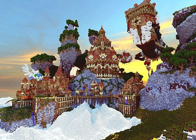 Hearthveil lost in thought clouds minecraft building ideas 4