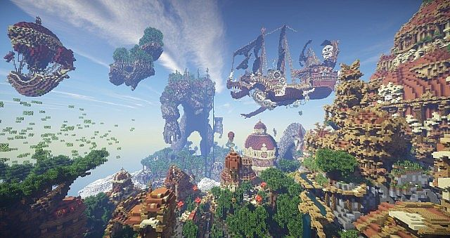 Hearthveil lost in thought clouds minecraft building ideas 5