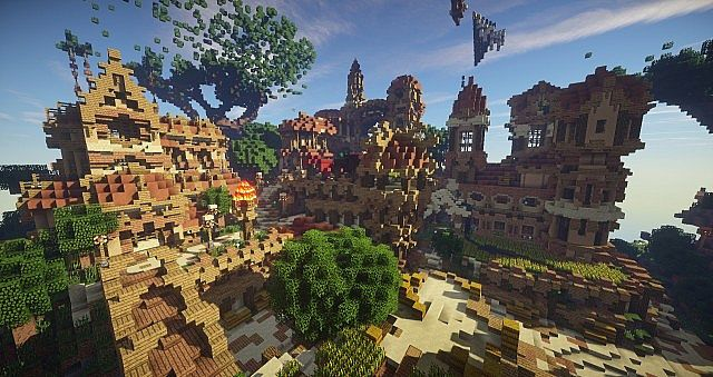 Hearthveil lost in thought clouds minecraft building ideas 8