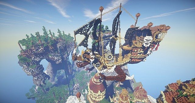 Hearthveil lost in thought clouds minecraft building ideas 9