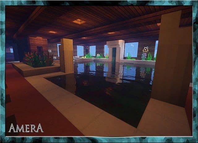 Amera Sky Vill Floating Minecraft castle building ideas 11