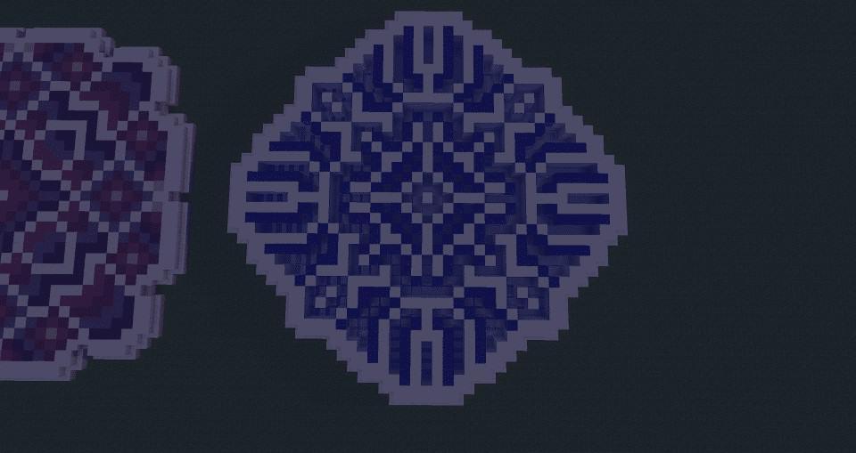 Blue Minecraft Floor Pattern Ideas