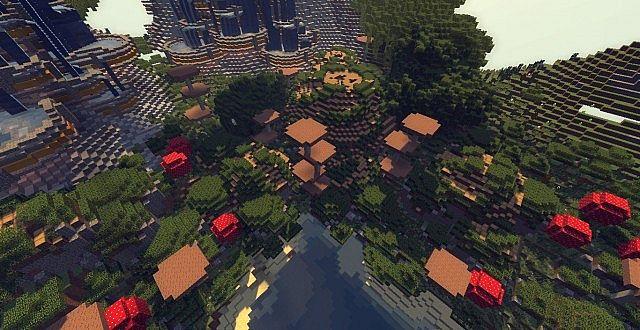 Genesis Turtle A Living Ark minecraft building ideas 6