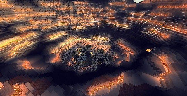 Genesis Turtle A Living Ark minecraft building ideas 8