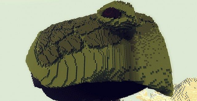Genesis Turtle A Living Ark minecraft building ideas2