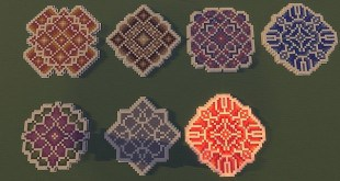 DJRedwolf Created And Shared Some Custom Floor Patterns He Made. All In All  There Are 6 Different Patters Ranging From All Sorts Of Different Colors  And ...