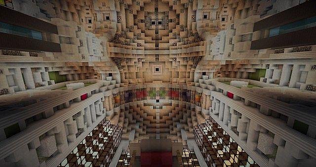 Basilica Notre Dame de Fourviere minecraft building ideas castle mountain 13
