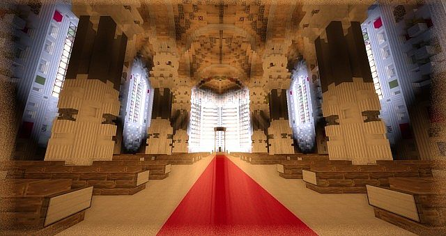 Basilica Notre Dame de Fourviere minecraft building ideas castle mountain 6