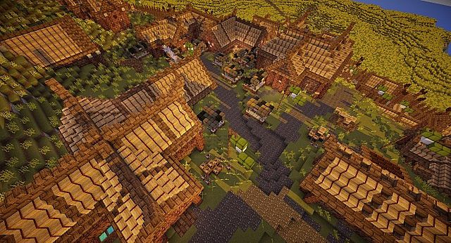 Edoras - Capital of Rohan minecraft building ideas city hill mountain 6