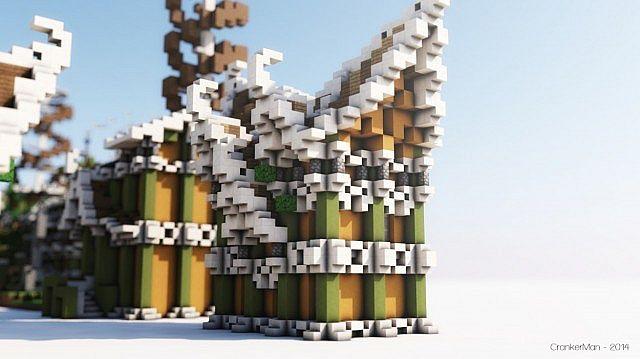 Elven Style Building Bundle house design minecraft ideas 10