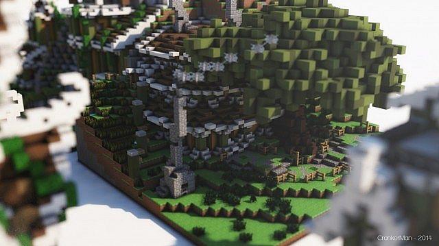 Elven Style Building Bundle house design minecraft ideas 12