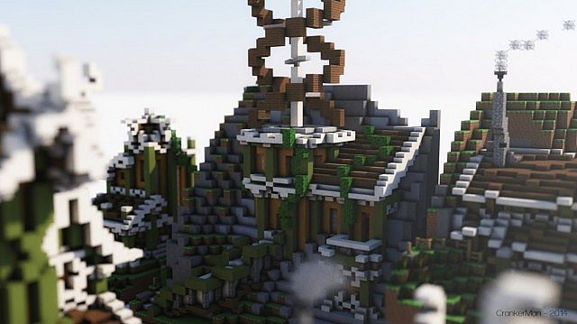 Elven Style Building Bundle house design minecraft ideas 13