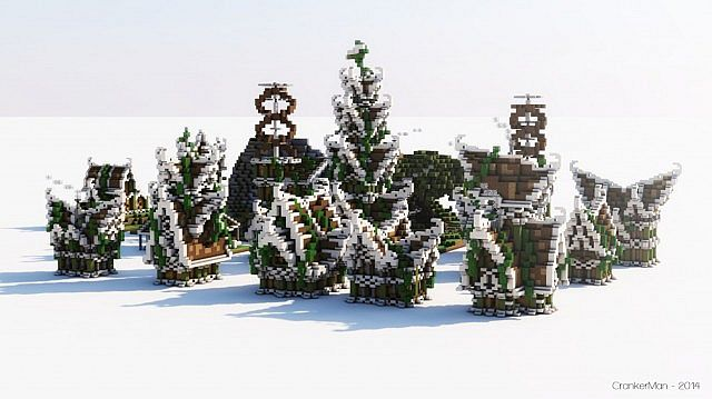 Photo of Elven Style | Houses | Building Bundle