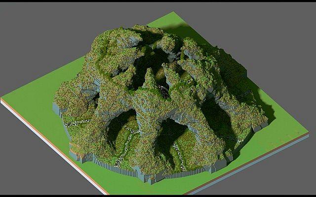Huevo Custom Terrain Organic egg island big building ideas minecraft 4
