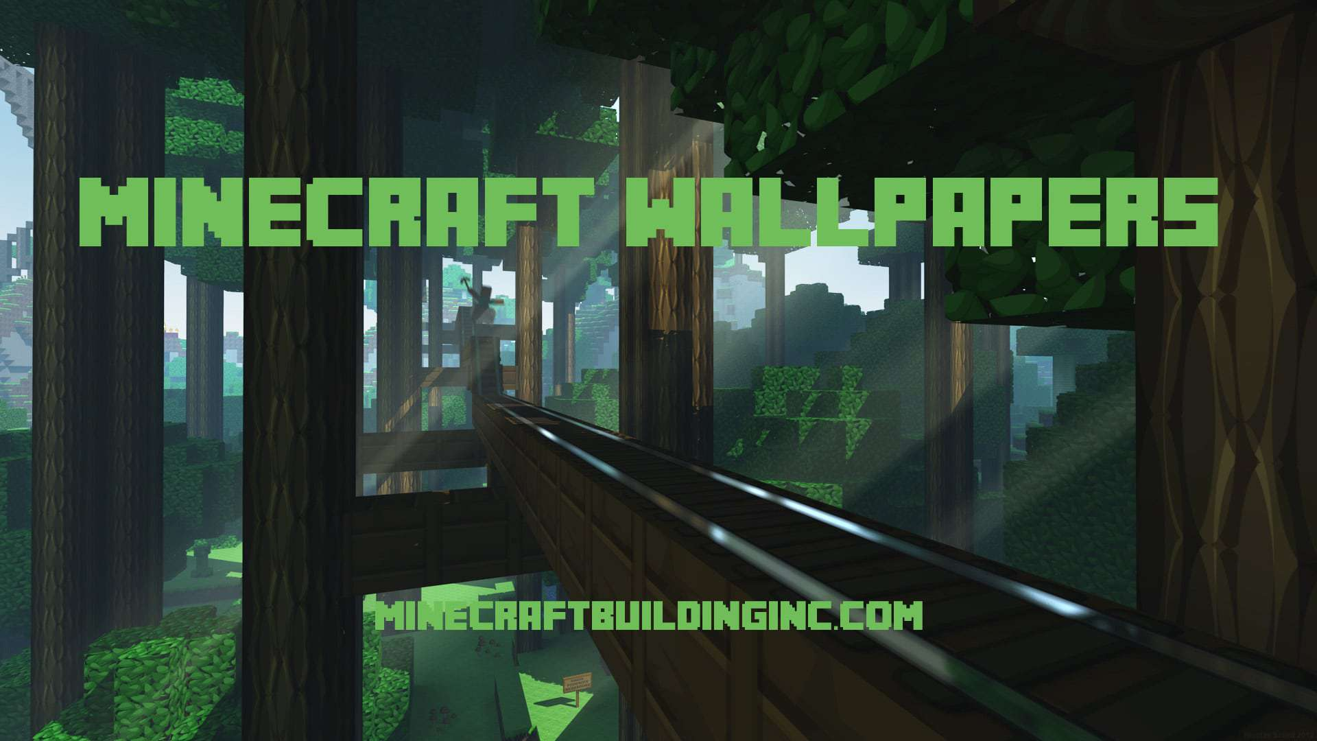 Popular Wallpaper Minecraft Green - Minecraft-wallpapers-banner-building-backgrounds  You Should Have_952957.jpg