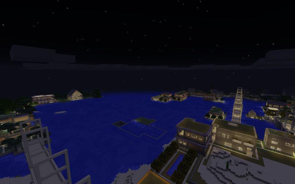 My World Minecraft bulding city ideas 7