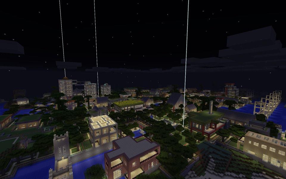 My World Minecraft bulding city ideas 9