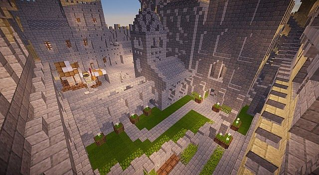 Osgiliath - Ancient Capital of Gondor minecraft LOTR building ideas 13