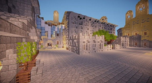 Osgiliath - Ancient Capital of Gondor minecraft LOTR building ideas 14