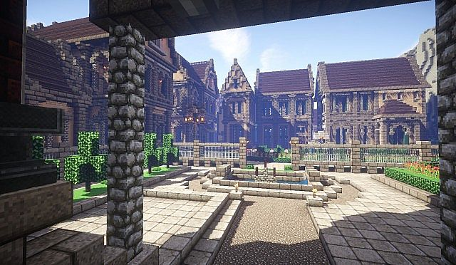 Pophasus minecraft city town old medieval kingdom build ideas 14
