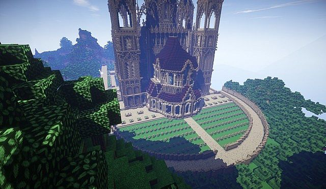 Pophasus minecraft city town old medieval kingdom build ideas 16