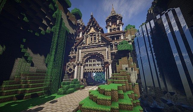 Pophasus minecraft city town old medieval kingdom build ideas 18