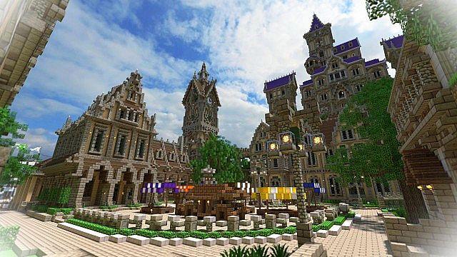 Pophasus minecraft city town old medieval kingdom build ideas 2