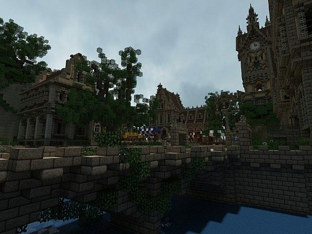 Pophasus minecraft city town old medieval kingdom build ideas 7