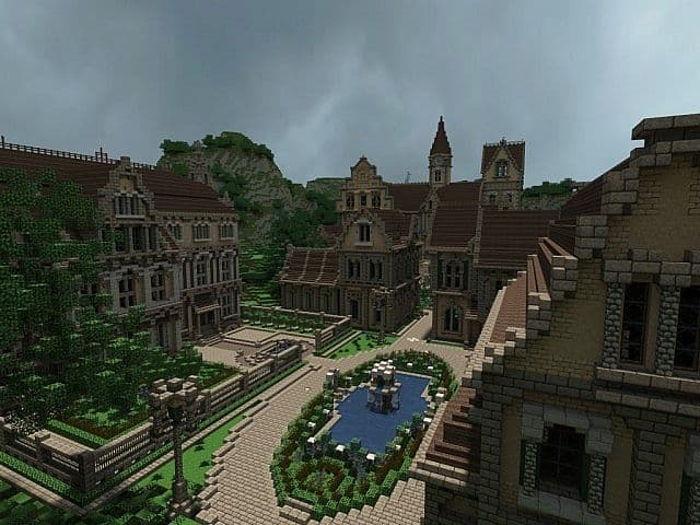 Pophasus minecraft city town old medieval kingdom build ideas 8