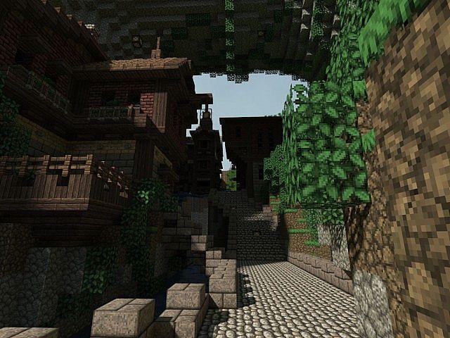 Pophasus minecraft city town old medieval kingdom build ideas 9