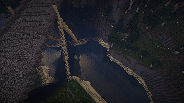 Wizard's Temple minecraft castle build ideas mountains 6
