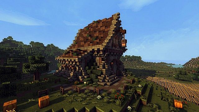medieval farm minecraft house building ideas 3