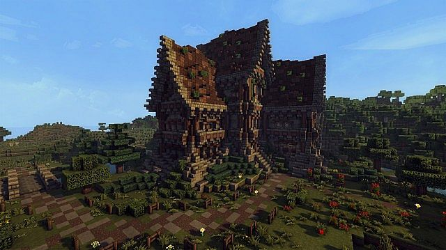 medieval farm minecraft building inc