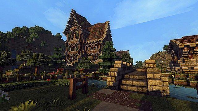 medieval farm minecraft house building ideas 6