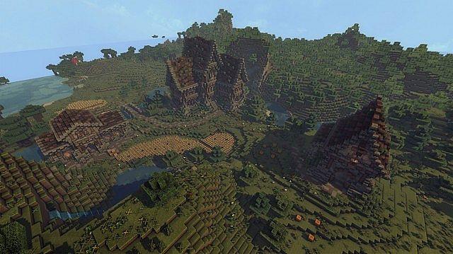 medieval farm minecraft house building ideas 8
