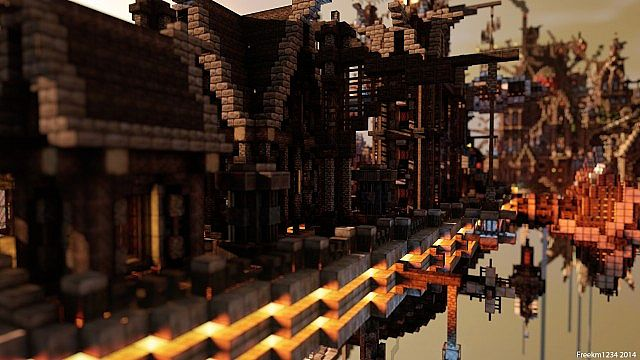 Blackwind Metropolis A City in the Sky floating minecraft building inspiration 3