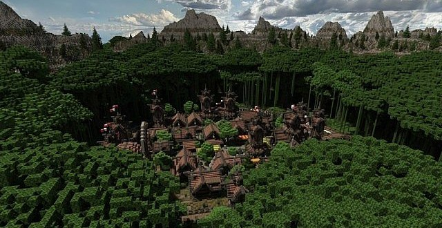 Lost Isles Of Galitor island village minecraft building ideas start 3