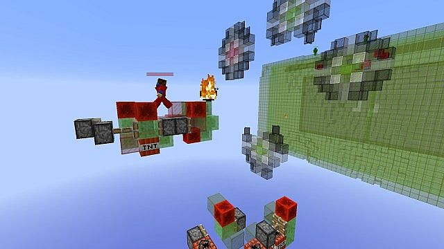 Missile Wars Mini Game for 1.8.1 minecraft building ideas 5