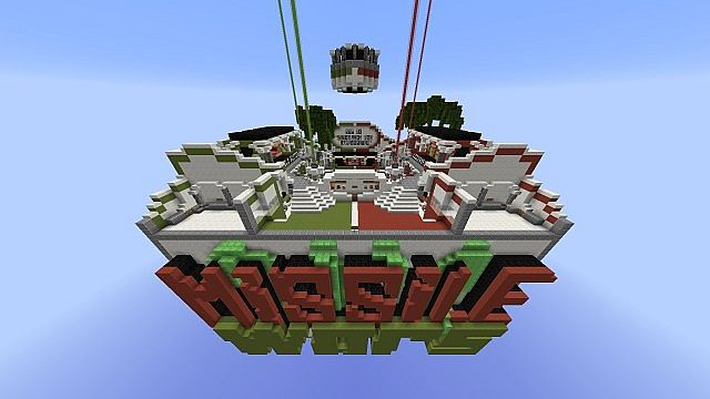 Missile Wars Mini Game for 1.8.1 minecraft building ideas