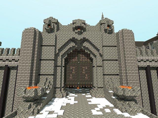Winterbleak [World of Targur Minecraft castle building ideas sea water bridge boats 4