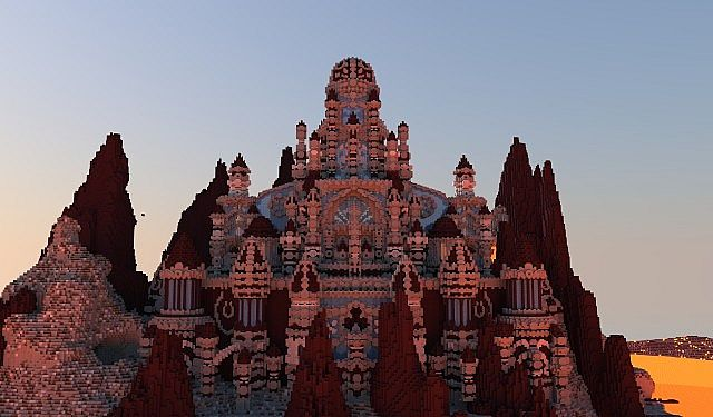 A journey though hell minecraft building ideas castle 2