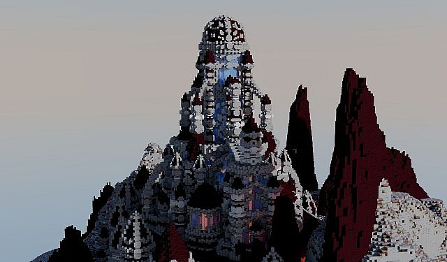A journey though hell minecraft building ideas castle 4
