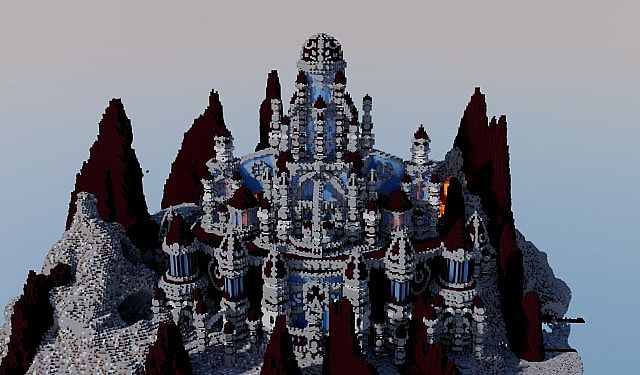 A journey though hell minecraft building ideas castle 5