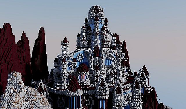 A journey though hell minecraft building ideas castle