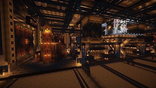 BlockWorks Inc Minecraft building ideas city iron industrial 10