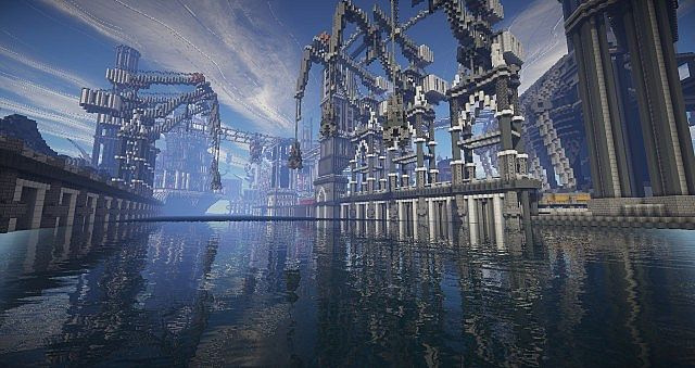 BlockWorks Inc Minecraft building ideas city iron industrial 17