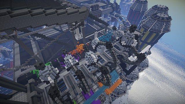 BlockWorks Inc Minecraft building ideas city iron industrial 19