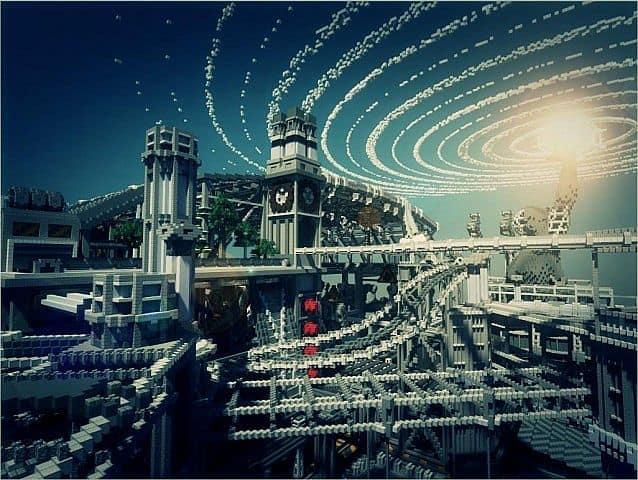 BlockWorks Inc Minecraft building ideas city iron industrial 5
